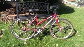 Schwinn CrossFit Small Womens All Terrain Bike Maroon Like New Extras in Westmont, Illinois