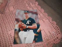 """MARK MCGWIRE Baseball Photo Oakland A's Unsigned 4""""w x 6"""" h in Kingwood, Texas"""