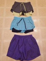 Champion and Wilson sport shorts for ladies in Oceanside, California