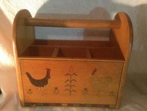 Rooster wooden Kitchen Caddy or Utensil Holder in Dover, Tennessee