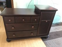 6 Drawer Dark Cherry Dresser Combo in Chicago, Illinois