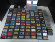 nintendo game boy advance lot: 2 sp consoles, 2 chargers, 100 games plus .... in Brookfield, Wisconsin