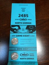 Bears vs Vikings North Garage Parking Pass in Joliet, Illinois