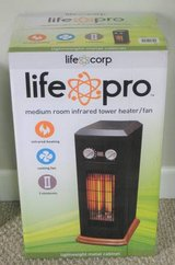 LifePro Medium Room Infrared Tower Heater / Fan - 1500w in Chicago, Illinois