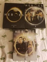 Heroes Seasons 1-3 in Vista, California