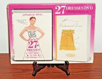 NEW DVD & Book Combo Set NEW 27 Dresses DVD 101 Uses for A Bridesmaid Dress Book COMBO Set Lot RARE in Morris, Illinois