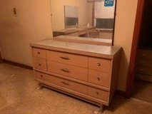 Mid Century Modern Dresser/Mirror and Dressing Table in Wheaton, Illinois