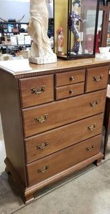 Solid Maple Highboy Dresser - Delivery Available in Tacoma, Washington