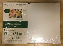 Strathmore ST105-232 Embossed Photo Mount Cards 50-Pack NEW in Bolingbrook, Illinois