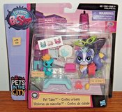 NEW Littlest Pet Shop PET TALES In The City Ritzy Rococo Frilly Von Riches #'s 79 & 80 in Morris, Illinois