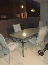 outdoor table and 4 chairs in Phoenix, Arizona