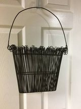 Southern Living at Home TWIRLY TWIGS Wire Door Basket in Westmont, Illinois