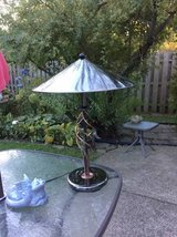 Contemporary Black/Silver Table Light in Plainfield, Illinois