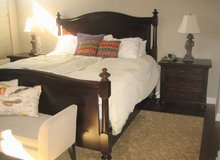 HIGH QUALITY 7-Piece Bedroom Set - RESTORATION HARDWARE in Lockport, Illinois
