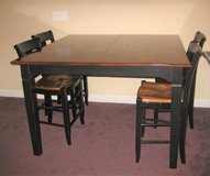 Wood Pub Table and 4 Chairs in Aurora, Illinois