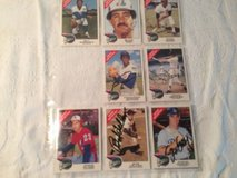 lot of 1992 World tour Baseball Cards ALL AUTOGRAPHED in Dover, Tennessee