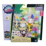 NEW Littlest Pet Shop PARK PARTY In The City Babaco Wolferman Swiftbrook #'s 89 90 91 in Joliet, Illinois
