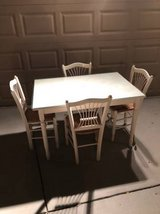 Small Solid Wood 5 Piece Dining Set in Travis AFB, California