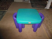 Little Tikes Table With Two Chairs in Oswego, Illinois
