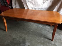 Wood coffee table in Vacaville, California