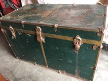 Antique trunk in Travis AFB, California
