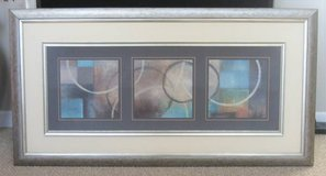 """ART - Large Abstract Wall Art - 62 1/4"""" W x 32 1/2"""" H in Naperville, Illinois"""