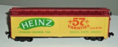 Tyco HO Scale Heinz 57 Varieties 40' Billboard Reefer Car Rd # HJH 484 in Plainfield, Illinois