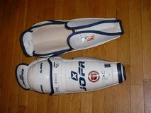 Sherwood 7000 Senior Hockey Goalie Pants W/Straps Black M PICTURES! in Westmont, Illinois