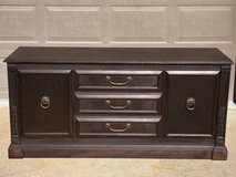 Beautiful buffet great condition dark brown in Joliet, Illinois