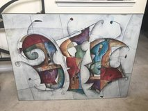 Abstract Multicolor Wall Art in Bolingbrook, Illinois