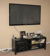 "SAMSUNG 64"" PLASMA DISPLAY / TV + Wall Mounting Bracket in Batavia, Illinois"