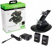 Xbox 360 Power Controller Charger W/ 2 Rechargeable Batteries in Fort Campbell, Kentucky