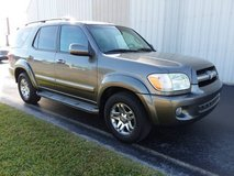 2005 Toyota Sequoia Limited 7-Pass 3 Row SUV V8 Sunroof Leather Loaded in Cherry Point, North Carolina