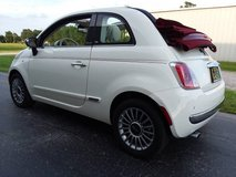2013 Fiat 500-C Lounge Convertible, Automatic Transmission, 63k Miles! in Cherry Point, North Carolina