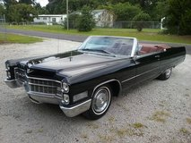 Black 1966 Cadillac DeVille Convertible... 429 V8, Turbo-400 Automatic in Cherry Point, North Carolina