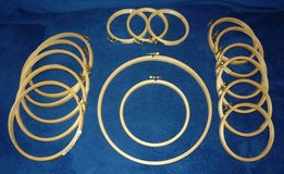 "16 Embroidery Hoops - 3 3/4""-9 3/4"" in Naperville, Illinois"