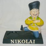 Vintage Nikolai Liquor Bottle Display in Chicago, Illinois