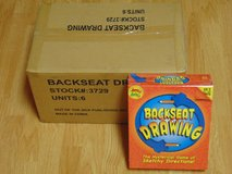 Backseat Drawing Game by Out of the Box - 2008 Edition New Sealed Case Lot of 6 in Camp Pendleton, California