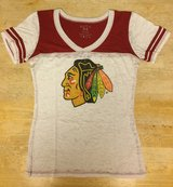 Chicago Blackhawks Women's Short Sleeve T-Shirt Size Medium in Aurora, Illinois