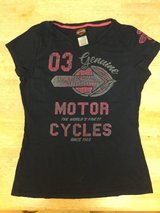 Hill City Harley-Davidson SD Women's Short Sleeve T-Shirt Size Medium in Aurora, Illinois