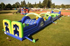 New Mega Inflatable Obstacle Alley in Fort Lewis, Washington