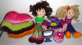 Groovy Girls ~ Furniture + 2 Dolls in Bolingbrook, Illinois