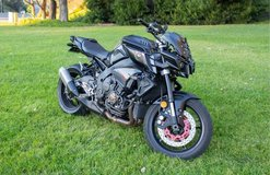 2017 Yamaha FZ-10/MT-10 OUTSTANDING CONDITION in Camp Pendleton, California