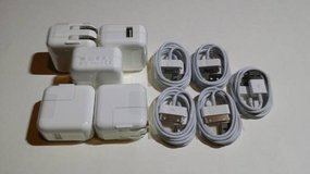 10W Apple iPad GEN 1/2/3 Wall Charger Adapter W/30Pin USB Cable in Houston, Texas