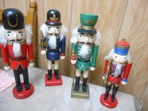 "Set of 4 Nutcrackers ranging from 6""h t; to 14"" high. in Bellaire, Texas"