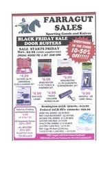 CYBER MONDAY SPORTING GOODS BLOW-OUT in Pleasant View, Tennessee