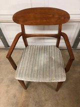 Solid Wood Mid Century Modern Arm Chair in Vacaville, California