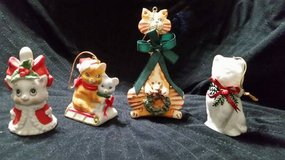 Christmas Cats Bells / Ornaments in Cleveland, Texas
