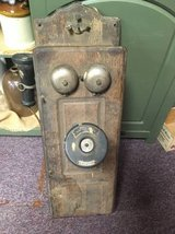 Original 1899 Crank Telephone w batteries in Dover, Tennessee