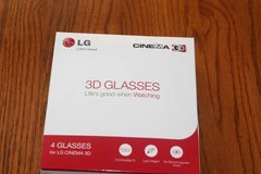 Four Pair LG 3D Glasses for Cinema 3D in Spring, Texas